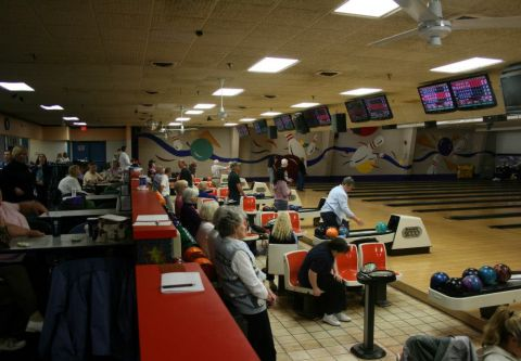 OBX Bowling Center, Nags Head Outer Banks, OBX Senior Bowlers (55+)